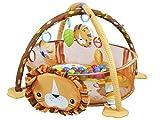 Krabbeldecke Spieldecke Spielbogen Spielmatte Babydecke Laufstall 3 in 1 #4012