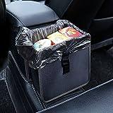 Auto Katzenstreu Kfz Mülleimer Auslaufsicher Tragbar Zusammenklappbar Aufbewahrungstasche Wasserabweisend Garbage Halter Container, 6.5Ltr Kapazität