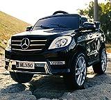 Mit Lizenz ! Mercedes-Benz ML 350 SUV POWER Jeep mit 2x MOTOR, Kinderauto Kinderfahrzeug Kind Akku...