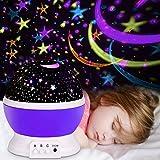 Projektor Lampe, Omitium LED Sternenhimmel Projektor Sternenlicht Nachtlicht Lampe Projektionslampe...