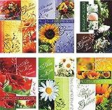 Geburtstagskarten 100 Stück mit tollen Motiven Glückwunschkarten Geburtstag 51-3510