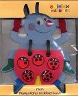 Mein Marienkäfer-Krabbel-Buch: Ein Moosgummi-Buch mit Marienkäfern zum Spielen und Zählen