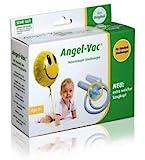 Angel-Vac Nasensauger für Standard Staubsauger, Das Original, Baby Nasensauger, Mit extra weichem...