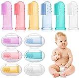 6 Stück Fingerzahnbürste baby, Baby Zahnbürsten, Säugling Zahnbürsten, Children Toothbrush -...