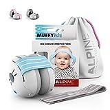 Alpine Muffy Baby Kapselgehörschützer Gehörschutz für Babys und Kleinkinder bis 36 Monate -...