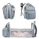 LOVEVOOK Wickelrucksack Rucksack Wickeltasche Groß Baby Tasche für Mama Mommy Bag Diaper Bag...