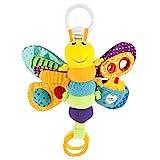 Lamaze Baby Spielzeug 'Freddie, das Glühwürmchen' Clip & Go, Hochwertiges Kleinkindspielzeug, Greifling Anhänger zur Stärkung der Eltern-Kind-Beziehung, Baby Mobile, Weihnachtsgeschenk, ab 0 Monaten