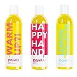 Loovara Vorteilspack Massage in Bottles – pflegende Massageöle im 3er Set (3x 250 ml) I Vegan,...