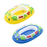 Bestway BW34037-20 aufblasbares Schlauchboot für Kinder 'Kiddie Raft', sortiert 102 x 69 cm