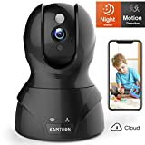 Wlan IP Kamera,KAMTRON HD WiFi Überwachungskamera,mit 350°/100°Schwenkbar,Home und Baby Monitor...