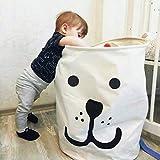 UniEco großer Wäschekorb wasserfest 40 * 50 Wäsche Box Haushalt Orgnizer Kinder kinderzimmer Aufbewahrungsbox Spielzeugkorb