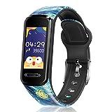 CanMixs Fitness Armband Kinder, Fitness Tracker Uhr mit Pulsmesser Schlafmonitor Schrittzähler Smartwatch Wasserdicht IP68 Fitnessuhr Aktivitätstracker Sportuhr für Damen Herren Kinder iOS Android