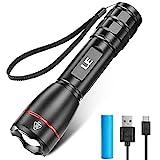 LE Extrem Hell LED Taschenlampe Aufladbar USB, 15000 Lux OSRAM P9 Taschenlampen, IPX7 Wasserdicht...