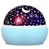 Spielzeug Junge 1-10 Jahre, Dreamingbox Sternenhimmel Projektor Nachtlicht für Kinder Spielzeug für Mädchen 1-10 Jahre 2019 Geburtstag Geschenke Mädchen 1-12 Jahre Weihnachten Geschenk für Jungen Blau