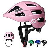 XJD Fahrradhelm Kinder Kinderhelm für Laufrad Fahrrad Roller Skateboard Helm für Baby Kleinkind 2-7 Alt(Pink, S)