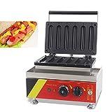 cgoldenwall np-531 6pcs kommerziellen Hot Dog Waffle Maker- und Wurst, die sich Maschine Mais Waffel Stick Baker - 220V