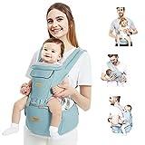 TOPERSUN Babytrage All In One Kindertrage Bauchtrage 12 Positionen Rückentrage Ergonomische...