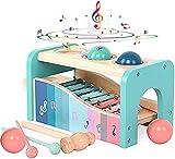 Xylophon und Hammerspiel Spielzeug mit Xylophon   Montessori Pädagogische Vorschullernenab 1 jahr ...