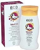 eco cosmetics Baby & Kids Körperlotion, Bio-Bodylotion, vegane Hautpflege, kontrollierte...