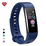 moreFit Fitness Tracker Kinder, Schrittzähler Uhr Fitness Armband mit Pulsmesser Schlafmonitor...