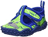 Playshoes Unisex-Kinder Aqua-Schuhe Robbe, Grün (Blau/Grün 791), 20/21 EU