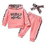 Geagodelia Babykleidung Set Baby Mädchen Kleidung Outfit Langarm Kapuzenpullover Top + Hose...