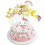 INTVN Tortendeko Geburtstag,Happy Birthday Kuchen Topper,Tortendekoration...