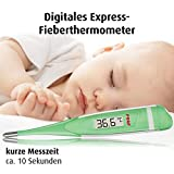 reer 9850 Digitales Express-Fieber-Thermometer fürs Baby, misst in 10 Sekunden, flexible Spitze