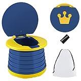 Toilettensitz Kinder Faltbare Töpfchen Training Sitze Baby-Töpfchen-Toilette Tragbar Reisetöpfchen für Reisen,Auto,Autoreise,Camping