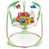 Fisher-Price K7198 Rainforest Jumperoo Baby Hopser mit Spielzeugen höhenverstellbar