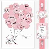Baby Shower Geschenk, Babyparty Gastgeschenk, Deko, Baby Andenken, Idee, Glückwünsche,...