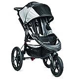 Baby Jogger Summit X3-3-Rad-Kinderwagen, Single-Modell, Schwarz/Grau