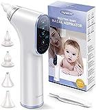 Nasensauger Baby Elektrisch, DynaBliss Nasensaug Baby Staubsaug USB Aufladen Medizinisches Silikon...