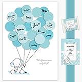 Babyparty Geschenk, Baby Shower Gastgeschenk, Deko, Baby Andenken, Idee, Glückwünsche,...
