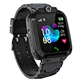 Kinder GPS Intelligente Uhr Wasserdicht, Smartwatch GPS Tracker mit Kinder SOS Handy Touchscreen...