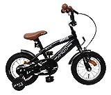 AMIGO BMX Fun - Kinderfahrrad - 12 Zoll - Jungen - mit Rücktritt und Stützräder - ab 3 Jahre -...