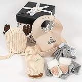 Babibo - Geschenk zur Geburt Mädchen - 5 in 1 Geschenkset - Mutterschaftspaket - Babygeschenk -...