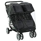 Baby Jogger Zwillingswagen-Wetterschutz und -Regenschutz | für City Mini2 Double und City Mini...