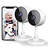 [2021 Neu]Überwachungskamera Wlan Kamera, Littlelf Wlan Überwachungskamera Innen WiFi kamera mit...
