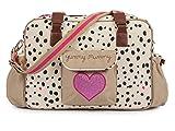 Pink Lining Yummy Mummy Tasche, L37 X W14 X H28 CM, Dalmatian (Beige / Schwarz / Pink)