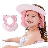 Maydolly Baby Duschhaube Badekappe verstellbar Haarwäsche Shampoo Augenschutz Hilfsmittel für...
