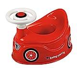BIG-Baby-Potty - Lerntöpfchen im BIG-Bobby-Car Design mit abnehmbarem Lenkrad und hoher Rückenlehne, herausnehmbarer Einsatz, für Kinder ab 18 Monaten