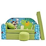 Kinder Sofa Couch Baby Schlafsofa Kinderzimmer Bett gemütlich verschidene Farben und motiven (Z16...