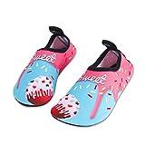 HMIYA Kinder Badeschuhe Wasserschuhe Strandschuhe Schwimmschuhe Aquaschuhe Surfschuhe Barfuss Schuh...