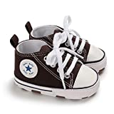 DEBAIJIA Lauflernschuhe Baby Segeltuchschuhe 0-6M Kinder Turnschuhe Jungen Leichtes Leinen Schuhe...