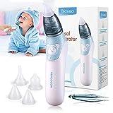 Baby Nasensauger, Bichiro® Elektrischer Nasenreiniger & Ohrenschmalz-Entferner mit 3 Größen...