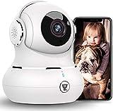 [2021 Neueste] Überwachungskamera Innen, Littlelf WLAN IP Kamera, 1080P WiFi Kamera Babyphone mit...