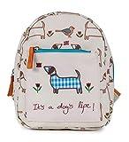 Pink Lining Kinderrucksak Mini Backpack It's a Dog's Life - Sausage Dog mit Sicherheitsleine