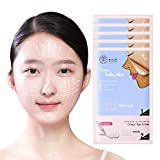 CRAZY SKIN Aus Korea - Heute ist Baby Skin V Lifting Mask Blatt mit Augencreme (5 Blatt) Peel-off