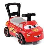 Smoby 720523 Mein erstes Auto Rutscherfahrzeug Cars, Kinderfahrzeug mit Staufach und Kippschutz,...